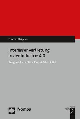 Cover-Bild Interessenvertretung in der Industrie 4.0