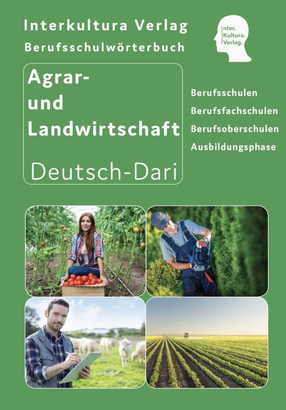 Cover-Bild Interkultura Berufsschulwörterbuch für Agrar- und Landwirtschaft für Ausbildung