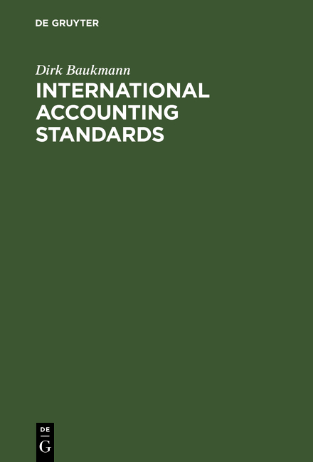Cover-Bild International Accounting Standards