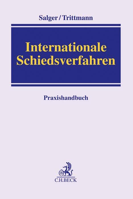 Cover-Bild Internationale Schiedsverfahren