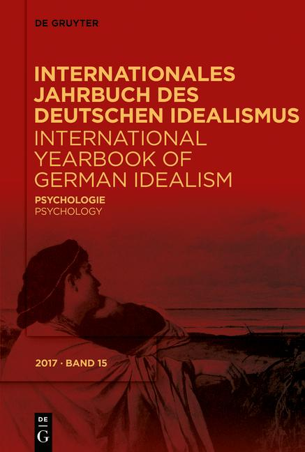 Cover-Bild Internationales Jahrbuch des Deutschen Idealismus / International... / Psychologie