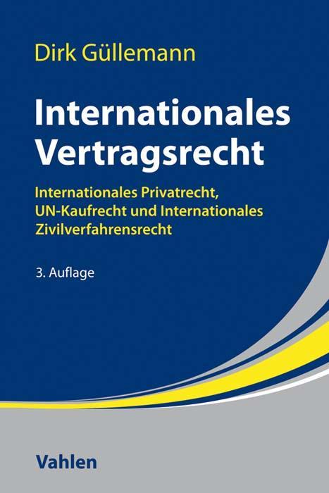 Cover-Bild Internationales Vertragsrecht