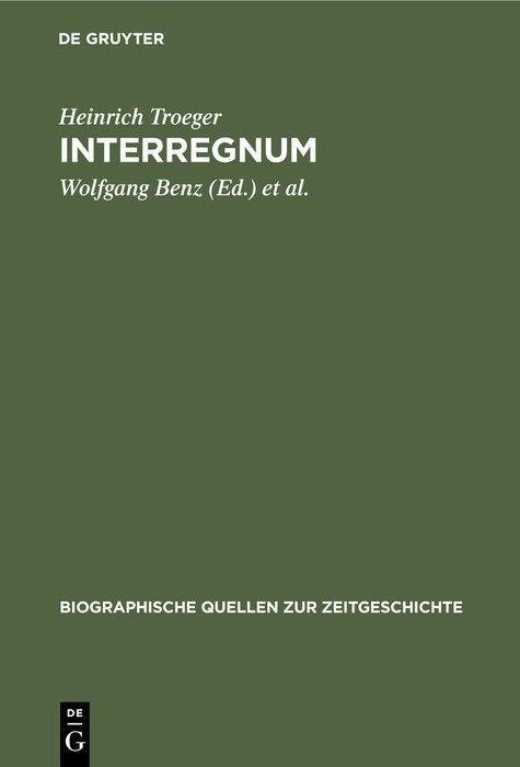 Cover-Bild Interregnum