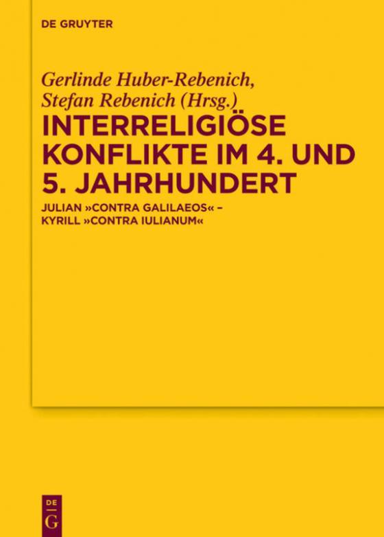 Cover-Bild Interreligiöse Konflikte im 4. und 5. Jahrhundert