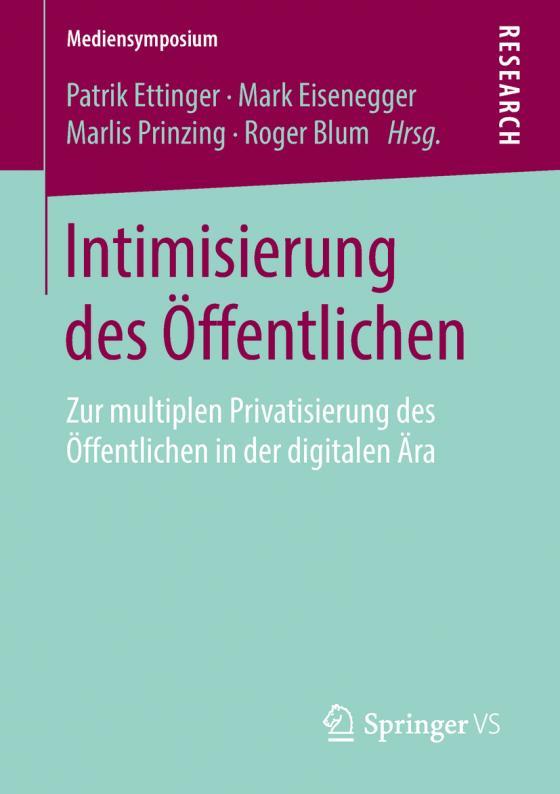 Cover-Bild Intimisierung des Öffentlichen