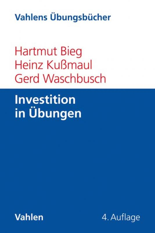 Cover-Bild Investition in Übungen