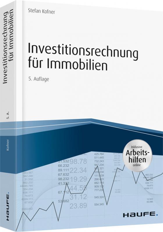 Cover-Bild Investitionsrechnung für Immobilien - inkl. Arbeitshilfen online