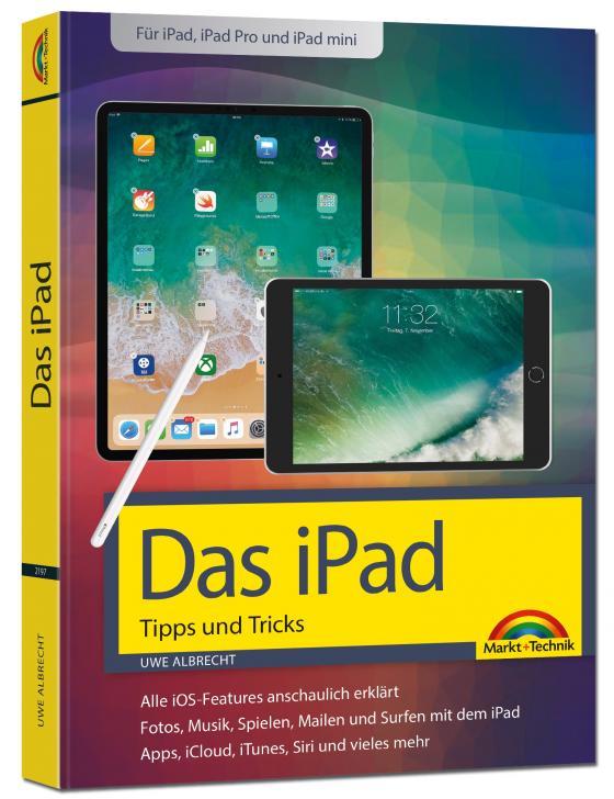 Cover-Bild iPad - iOS Handbuch - für alle iPad-Modelle geeignet (iPad, iPad Pro, iPad mini)
