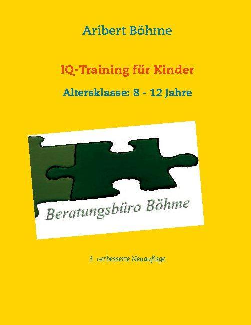 Cover-Bild IQ-Training für Kinder