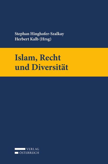 Cover-Bild Islam, Recht und Diversität