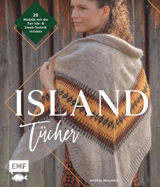 Cover-Bild Island-Tücher stricken