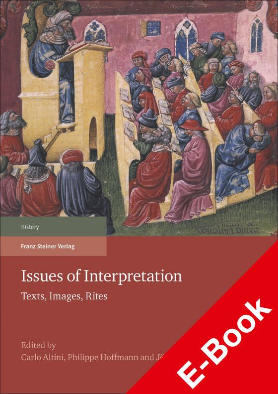Cover-Bild Issues of Interpretation