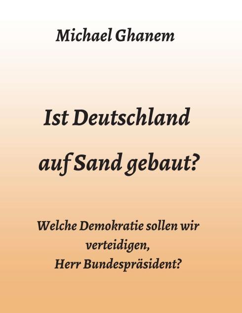 Cover-Bild Ist Deutschland auf Sand gebaut?