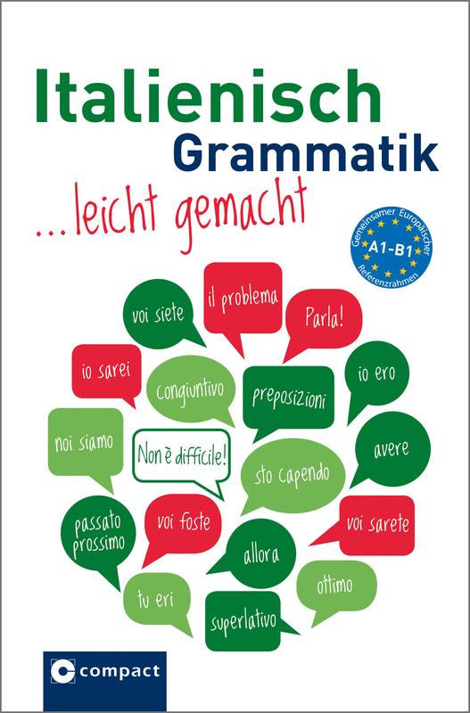 Cover-Bild Italienisch Grammatik leicht gemachtc A1-B1