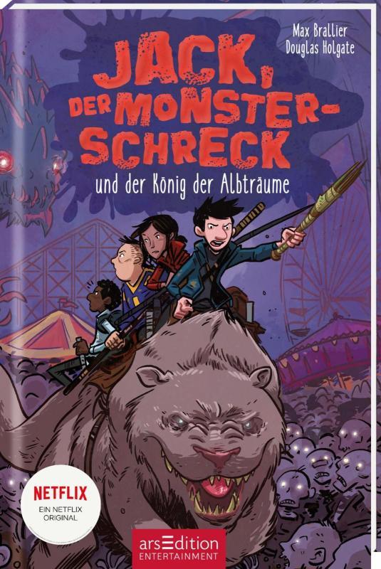 Cover-Bild Jack, der Monsterschreck, und der König der Albträume