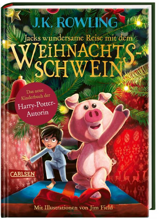 Cover-Bild Jacks wundersame Reise mit dem Weihnachtsschwein