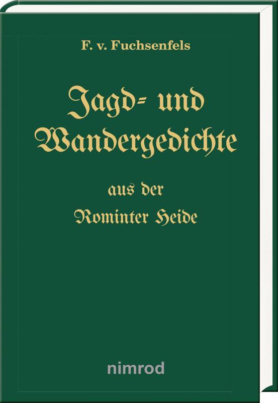 Cover-Bild Jagd- und Wandergedichte aus der Rominter Heide