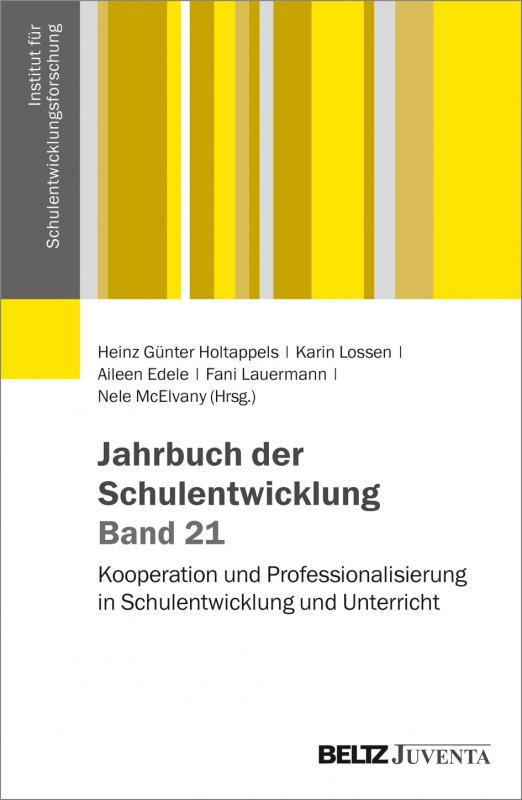 Cover-Bild Jahrbuch der Schulentwicklung. Band 21