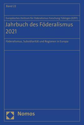 Cover-Bild Jahrbuch des Föderalismus 2021
