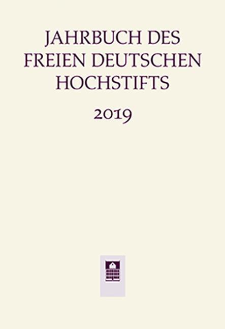 Cover-Bild Jahrbuch des Freien Deutschen Hochstifts 2019