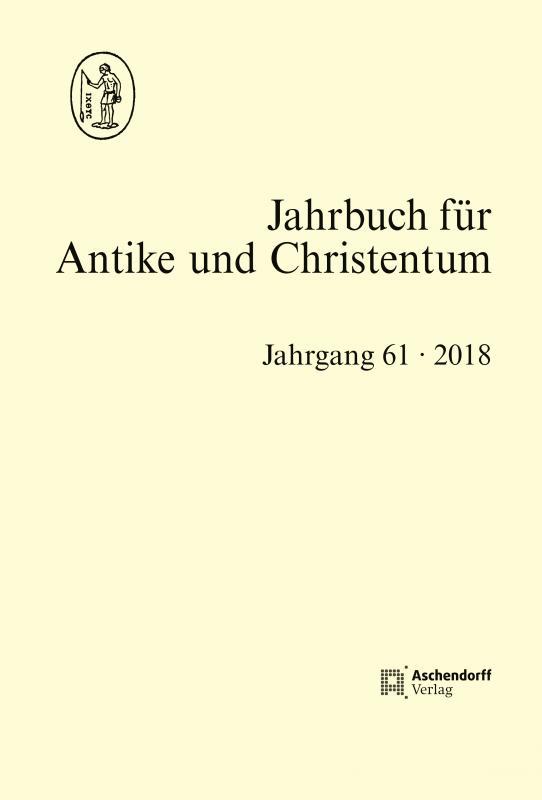Cover-Bild Jahrbuch für Antike und Christentum Jahrgang 61- 2018