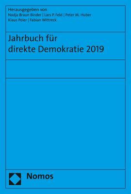 Cover-Bild Jahrbuch für direkte Demokratie 2019