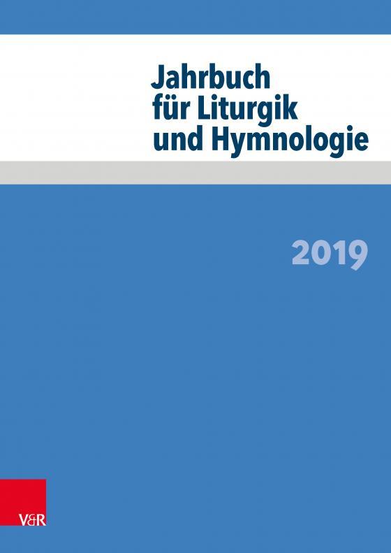 Cover-Bild Jahrbuch für Liturgik und Hymnologie