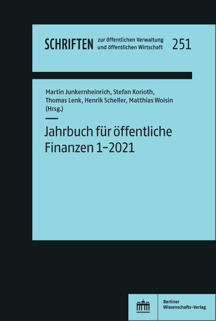 Cover-Bild Jahrbuch für öffentliche Finanzen 1-2021