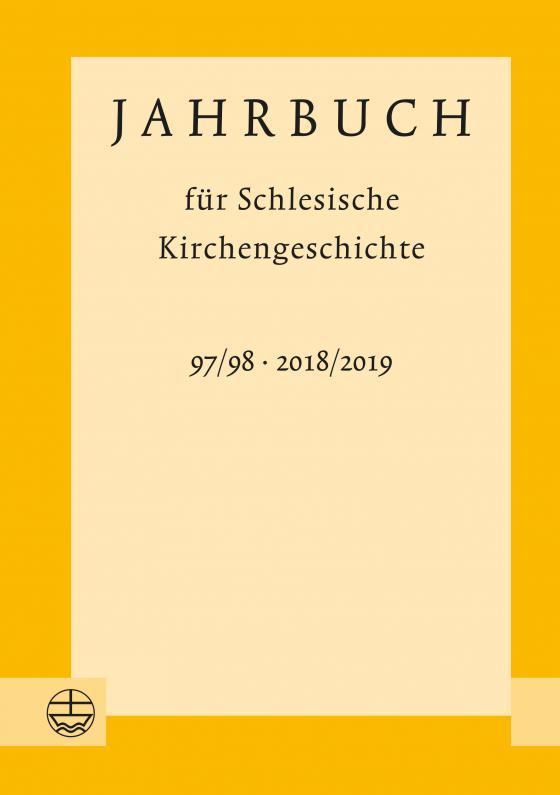 Cover-Bild Jahrbuch für Schlesische Kirchengeschichte