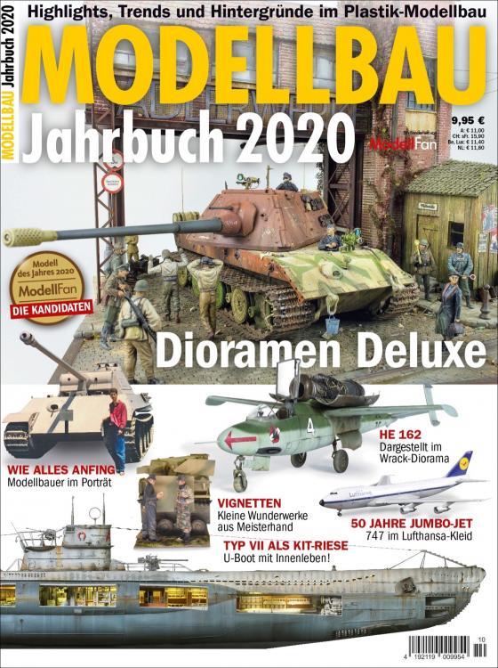 Cover-Bild Jahrbuch Modellbau 2020
