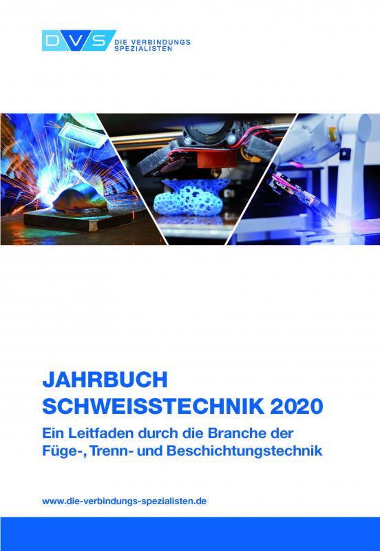 Cover-Bild Jahrbuch Schweißtechnik 2020