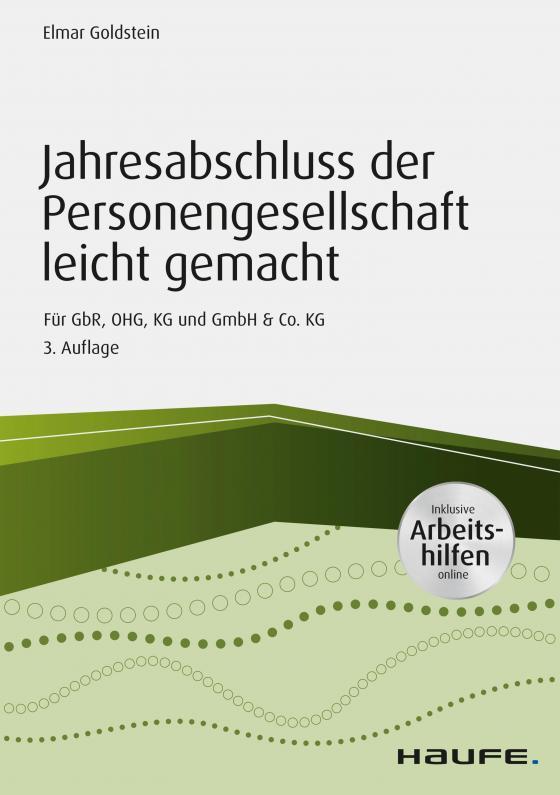 Cover-Bild Jahresabschluss der Personengesellschaft leicht gemacht - inkl. Arbeitshilfen online