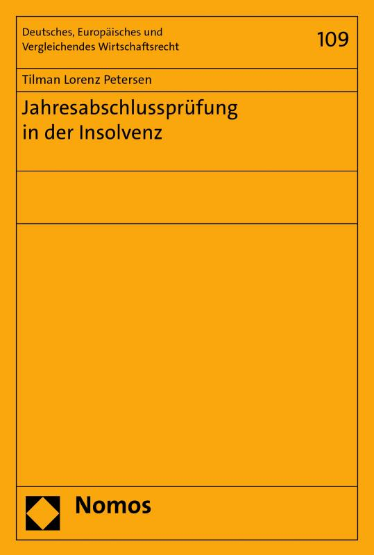 Cover-Bild Jahresabschlussprüfung in der Insolvenz
