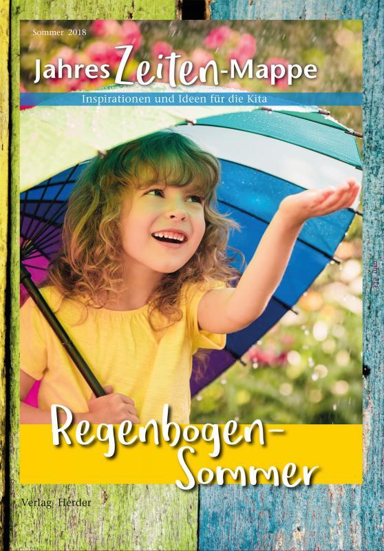 Cover-Bild JahresZeiten-Mappe: Regenbogen-Sommer