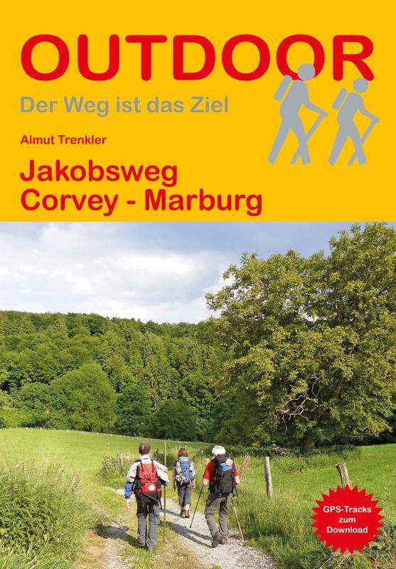 Cover-Bild Jakobsweg Corvey - Marburg