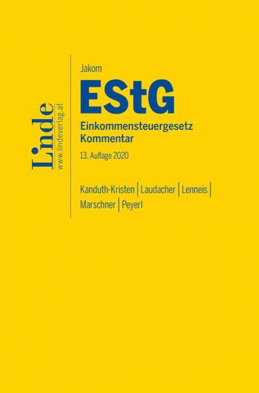 Cover-Bild Jakom EStG | Einkommensteuergesetz 2020
