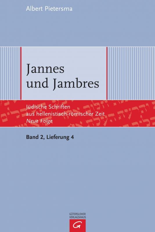 Cover-Bild Jannes und Jambres