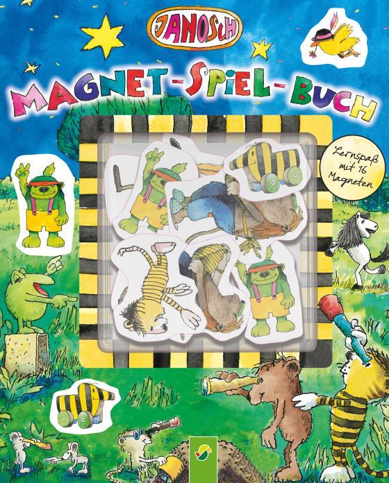 Cover-Bild Janosch Magnet-Spiel-Buch