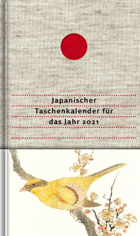 Cover-Bild Japanischer Taschenkalender für das Jahr 2021