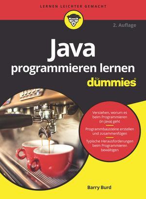 Cover-Bild Java programmieren lernen für Dummies