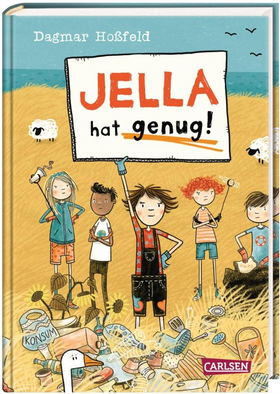 Cover-Bild Jella hat genug!