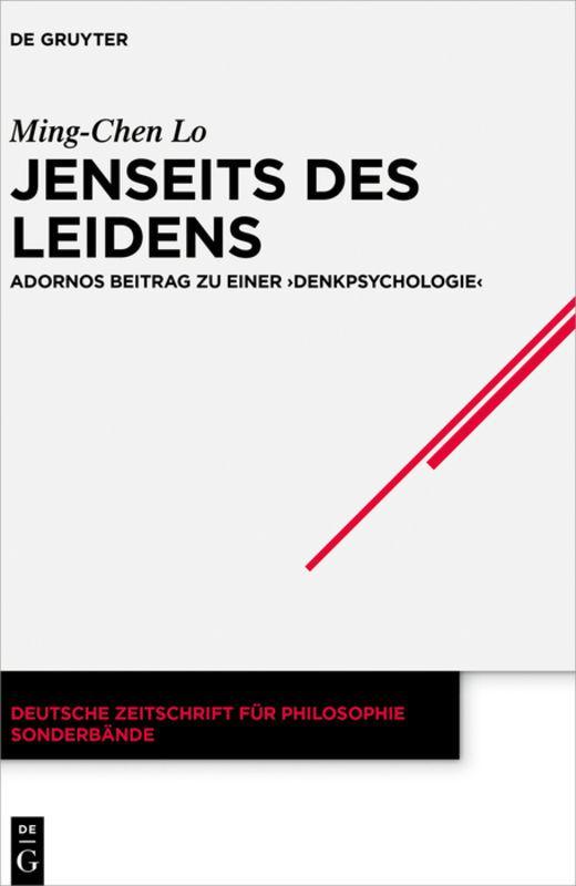 Cover-Bild Jenseits des Leidens