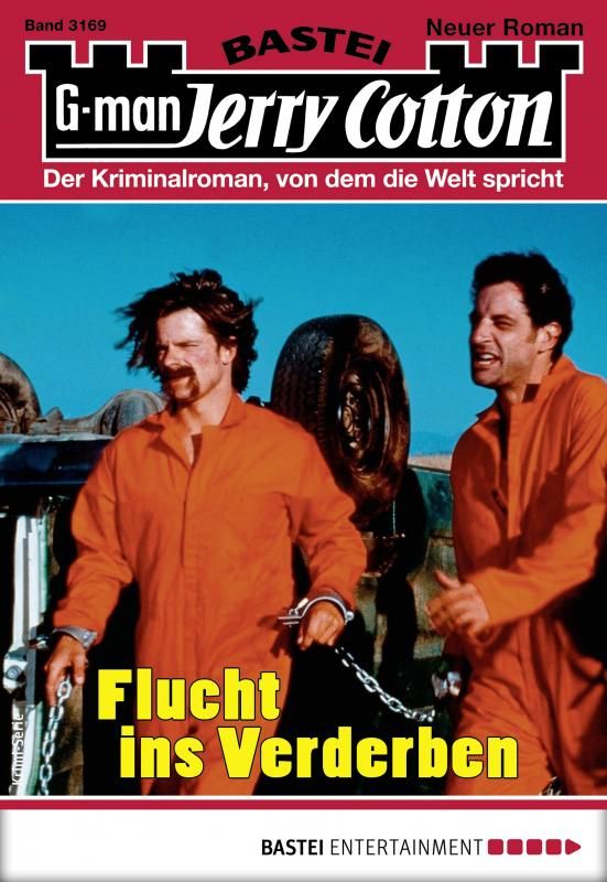 Cover-Bild Jerry Cotton 3169 - Krimi-Serie