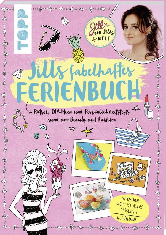 Cover-Bild Jills fabelhaftes Ferienbuch