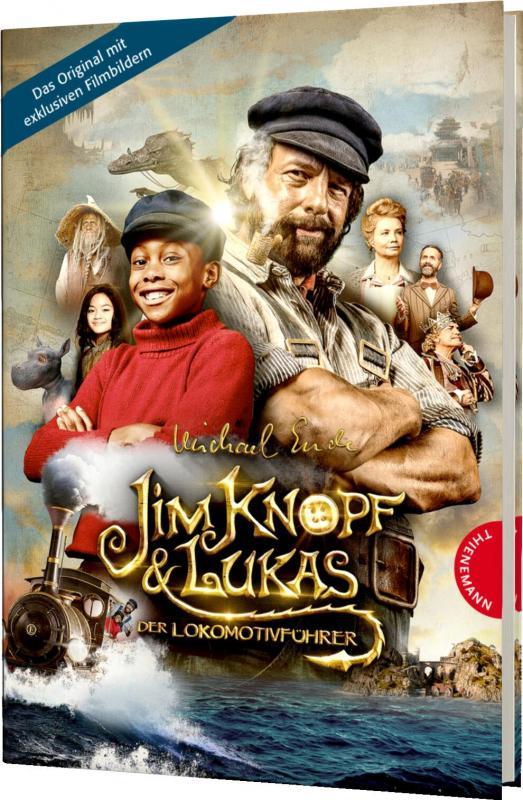 Cover-Bild Jim Knopf und Lukas der Lokomotivführer – Filmbuch