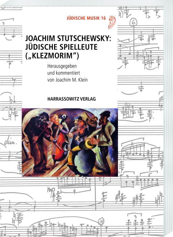 """Cover-Bild Joachim Stutschewsky: Jüdische Spielleute (""""Klezmorim"""")"""