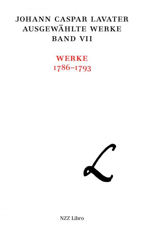 Cover-Bild Johann Caspar Lavater, Ausgewählte Werke, Band VII