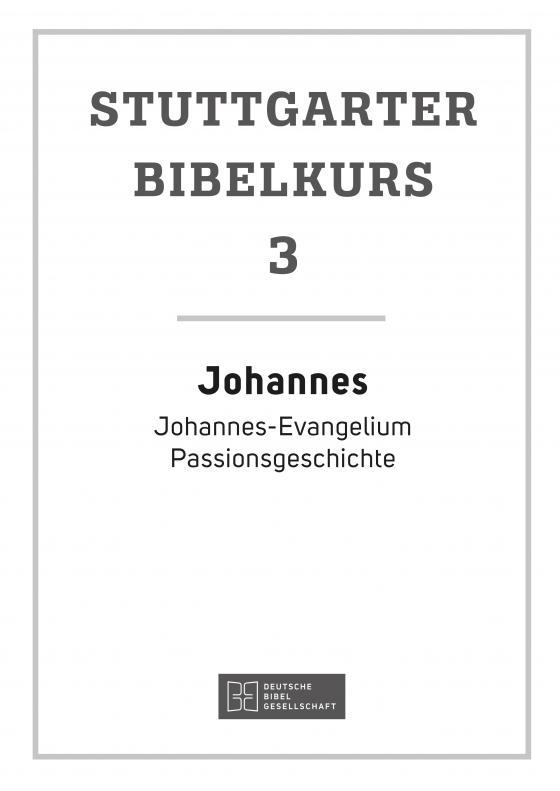 Cover-Bild Johannes