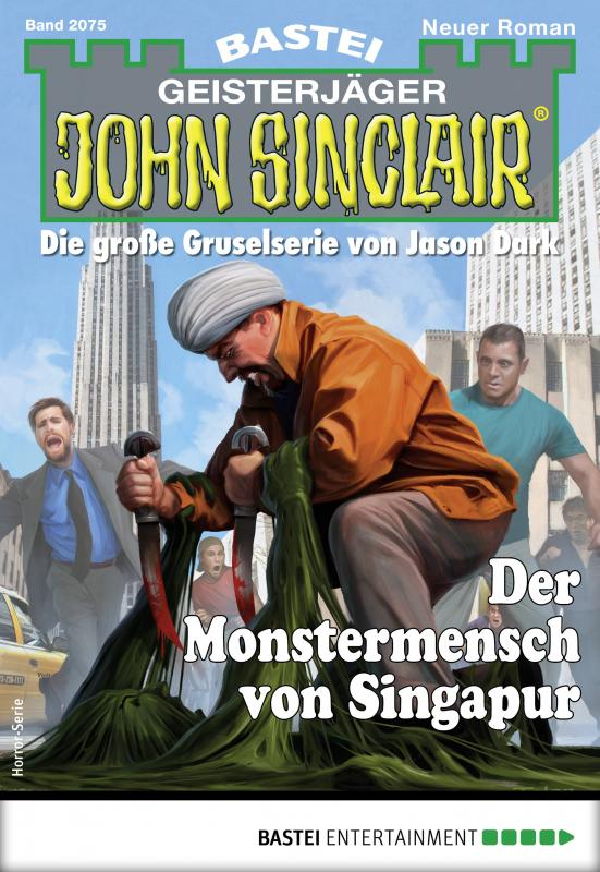 Cover-Bild John Sinclair 2075 - Horror-Serie