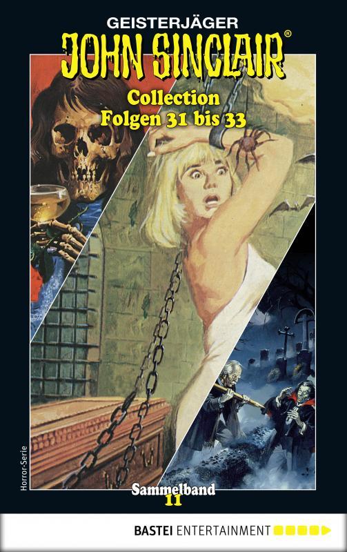 Cover-Bild John Sinclair Collection 11 - Horror-Serie